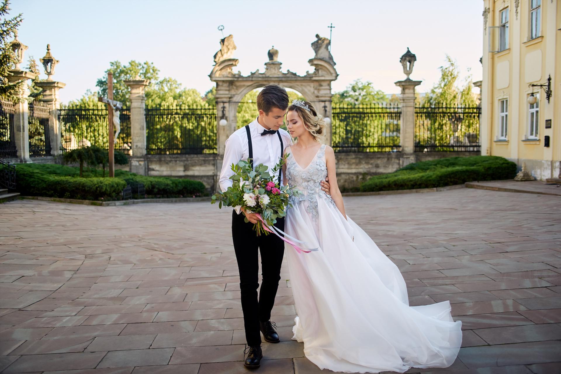Самые необычные креативные свадебные фотографии мести